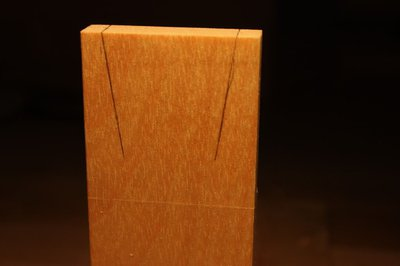 Dovetail joints.